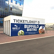 Ticketloketten | Aankleden sticker