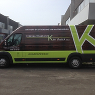 Project: Kim Vlerick - full car wrap