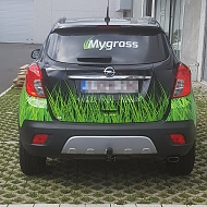 Project: MyGrass - full car wrap