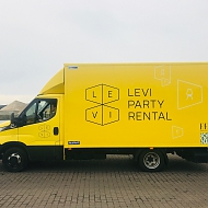 Project: branding Levi Party Rental