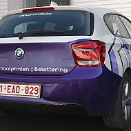 Project: Printville - wrapping wagen