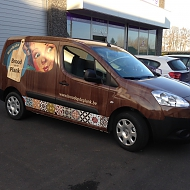 Project: Brood op de plank - full car wrap