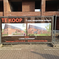 Project: Immo Carine - meshbache op Heras-hekkens